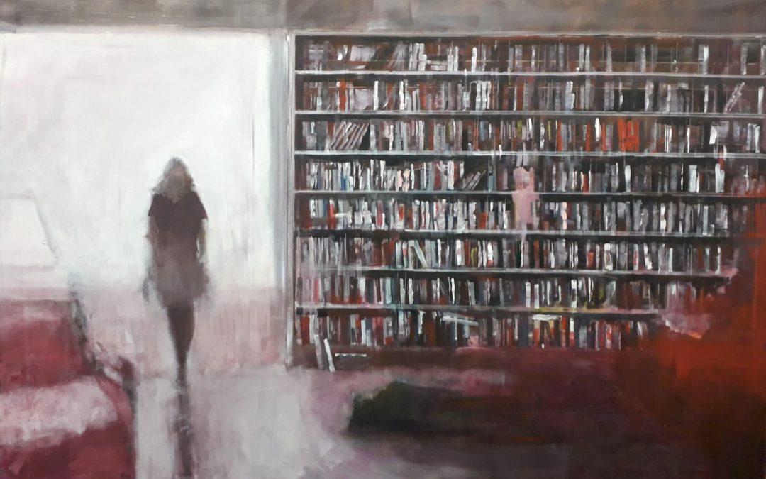 Libreria con finestra