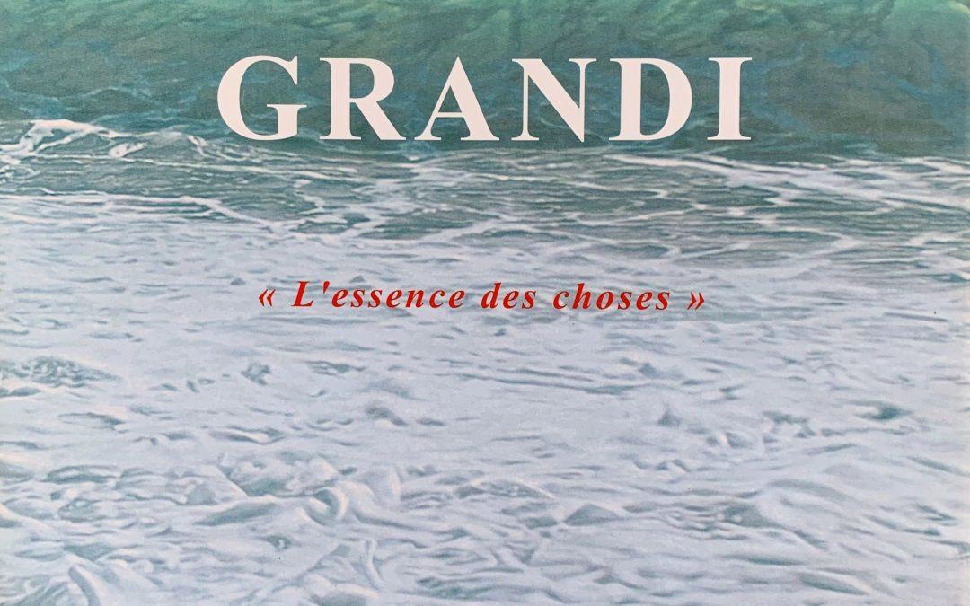 Grandi  ( L'essence des choses )